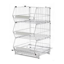 Collapsible Stacking Basket 1 Metre Wide