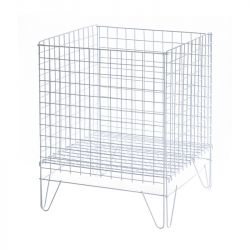 Wire Basket In Zinc 400mm X 550mm