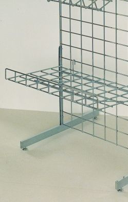 "Flat Shelf 15"" X 24"" To Fit Mesh Wall"