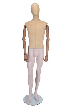 Standing Male Mannequin - Moveable Arms