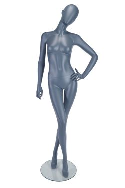 Female Mannequin Fashion Pose Matt Grey
