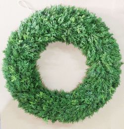 Plain Christmas Wreath - 60cm
