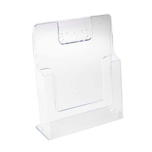 HB1002028 - A4 Leaflet Dispenser Clear Acrylic