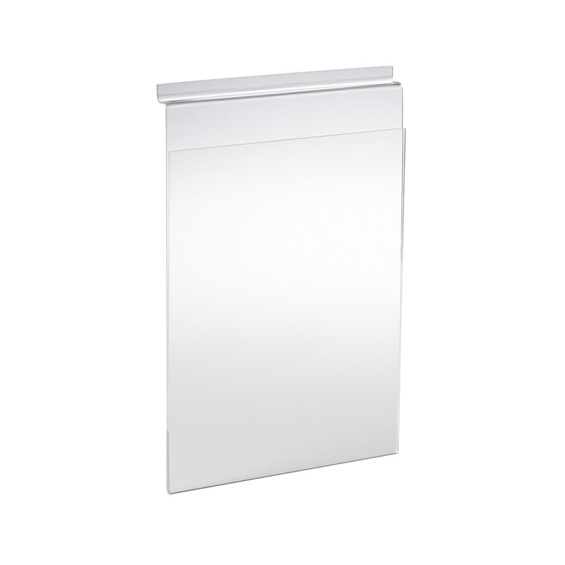 HB1002036 - A4 Portrait Leaflet Display for Slatted Wall Panel