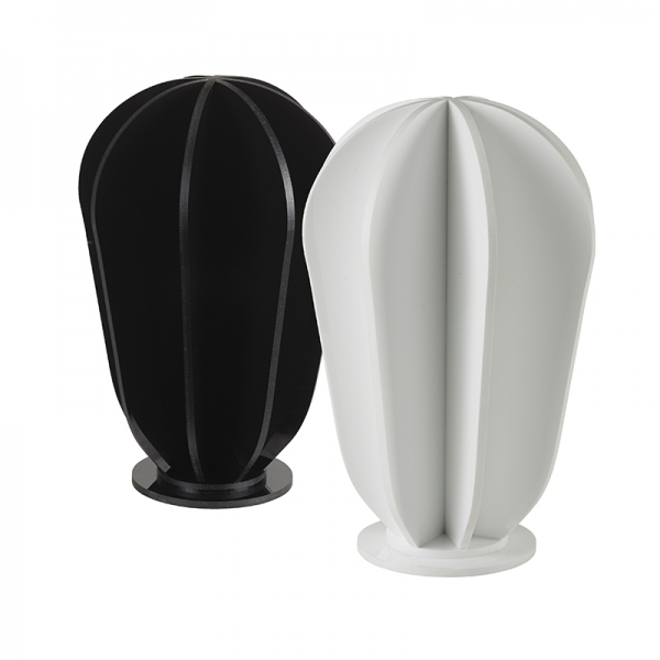 Merchandising Display Head - White Acrylic