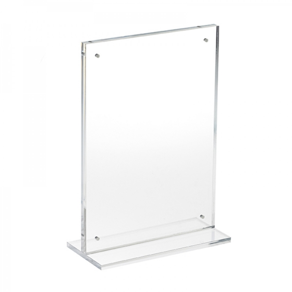 HB1002807 - A4 Portrait Magnet Pos Display Holder Acrylic