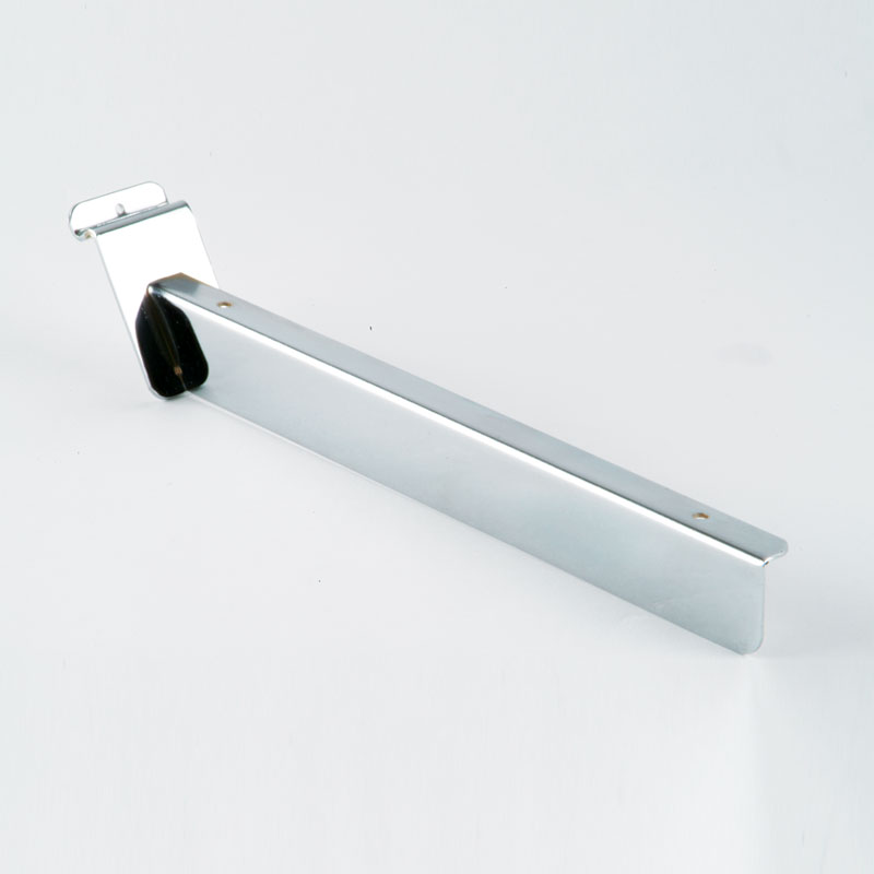 SW31CA - 305MM (SINGLE) SLOPING TIMBER BRACKET - CHROME