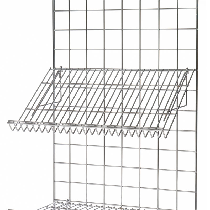 "MGS-15X24SS - Sloping Shelf 15"" X 24"" To Fit Mesh Wall"