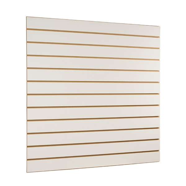HB1001551 - Slatwall Panel 1200 X 1200mm Cream