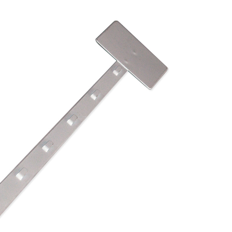 Heavy Duty Clip Strip - White  Epoxy