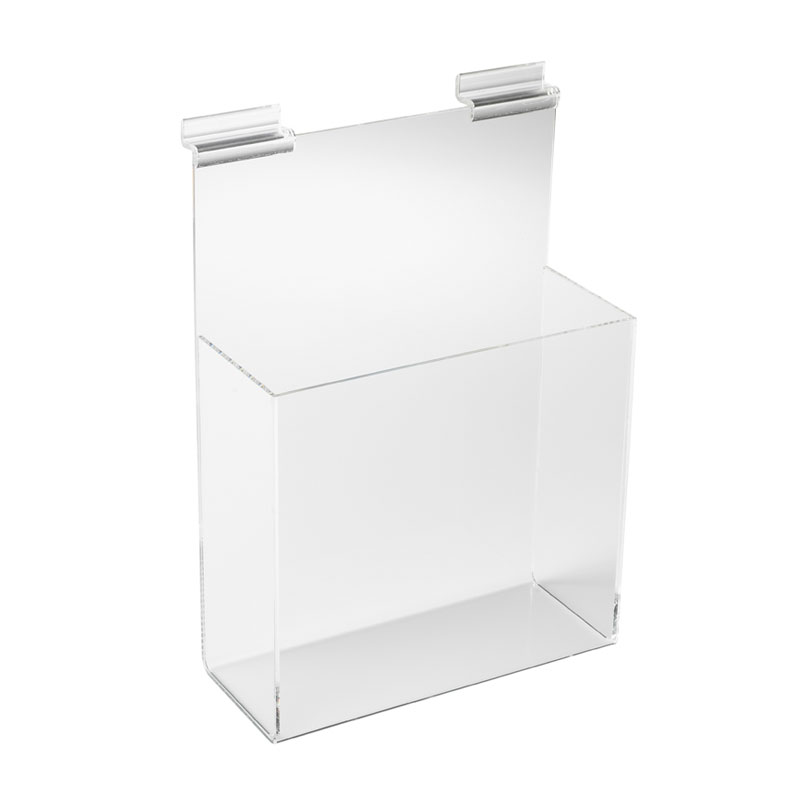 HB1002006 - A4 Brochure Dispenser For Slatted Wall