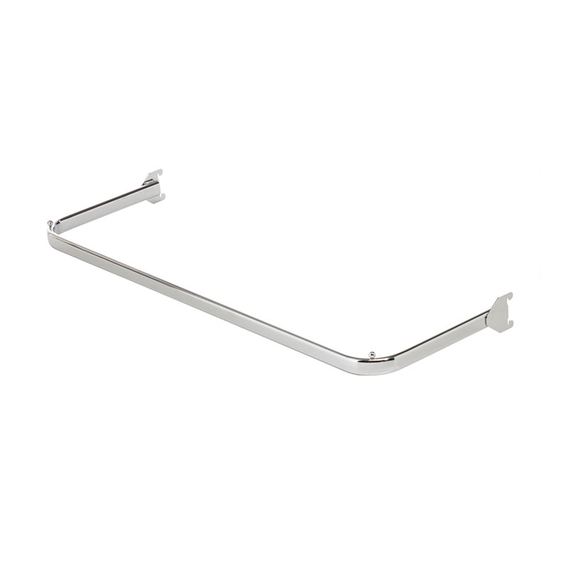 HB1002341 - 1 METRE OVAL HANGING RAIL - CHROME
