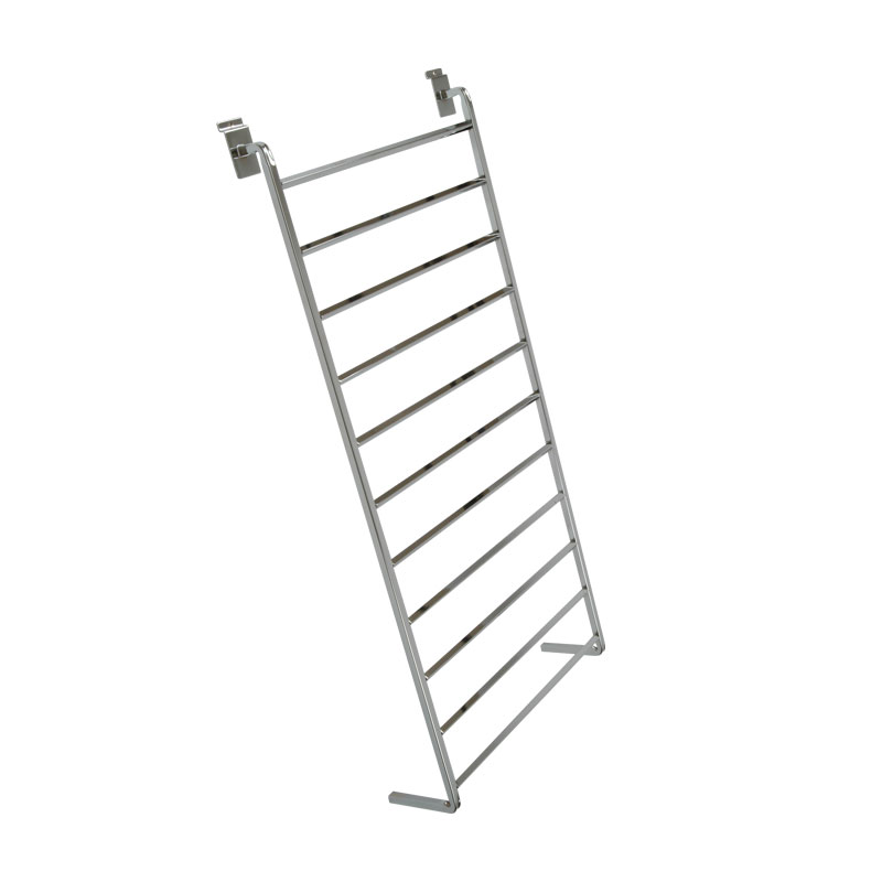 SW50C - Gift Paper Rack for Slatted Wall - Chrome Plated