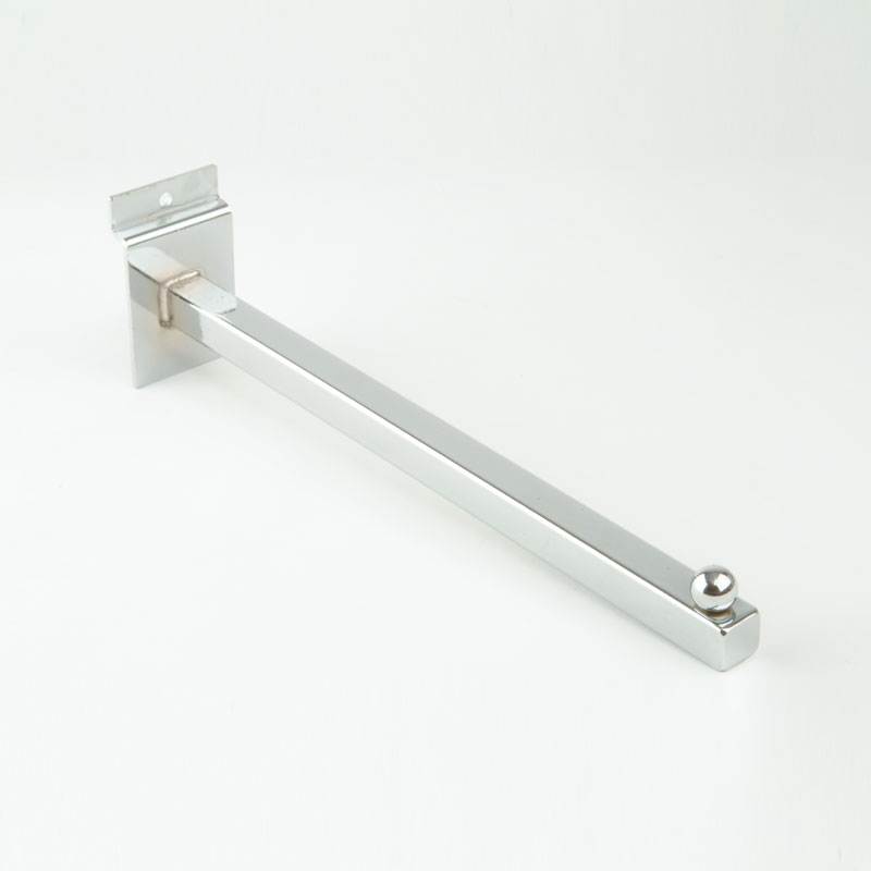 HB1001618 - Face On Arm 400mm - Chrome Plated