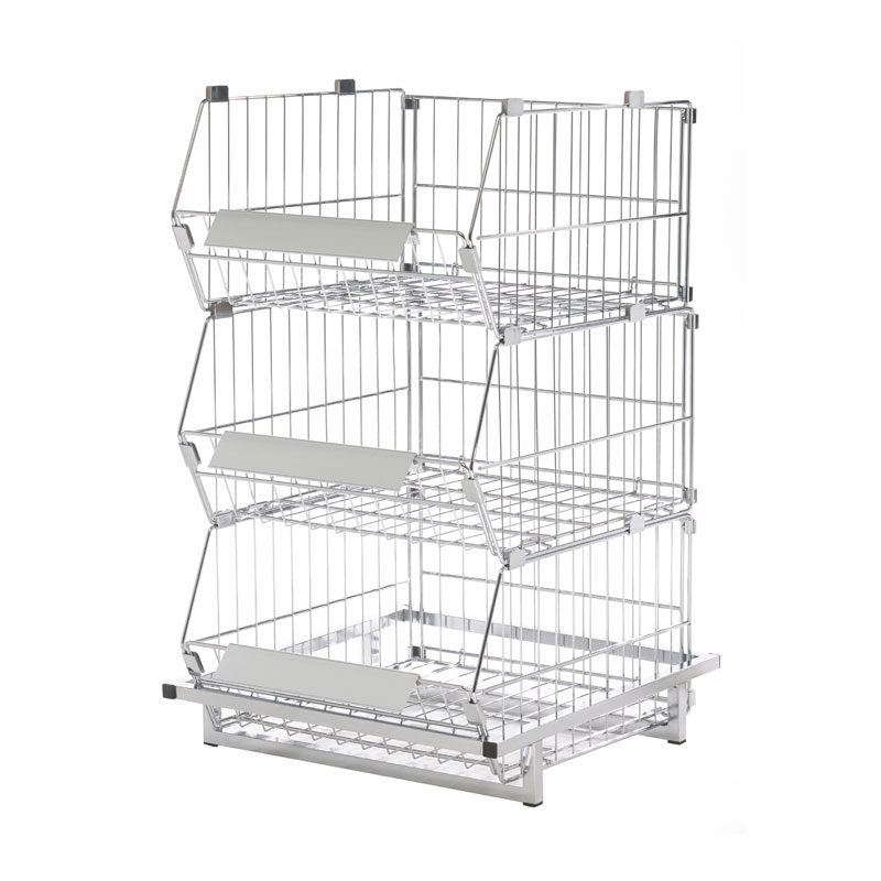 CSB-1000 - 1 METRE COLLAPSIBLE STACKING BASKET