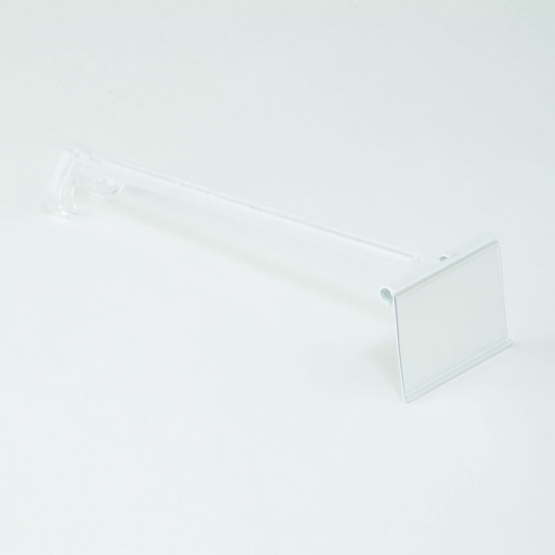 200mm Overhead Ticket Carrier For Euro Hooks