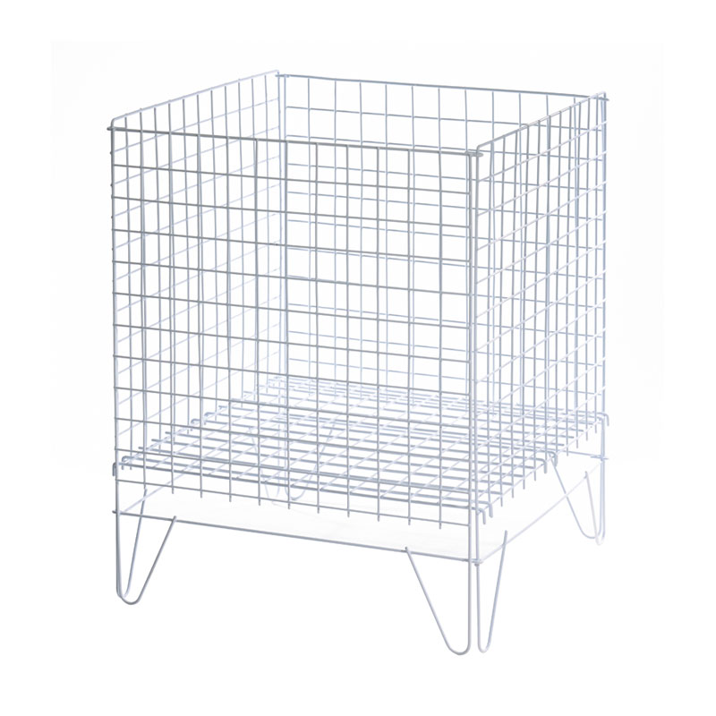 HB1001049 -  Wire Basket In Zinc 400mm X 550mm