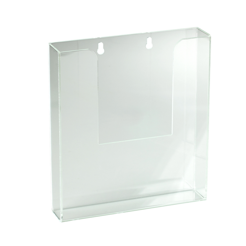 ACRFBH - ACRYLIC FLAT BROCHURE HOLDER (40MM GAP)