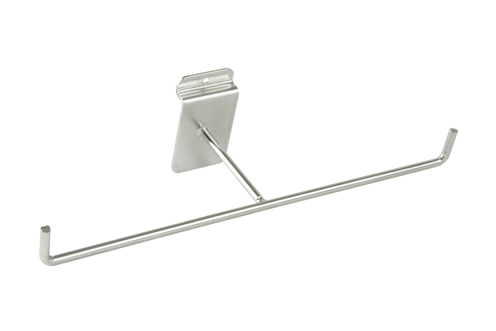 Bracelet Display Arm Slatted Wall - Chrome Plated