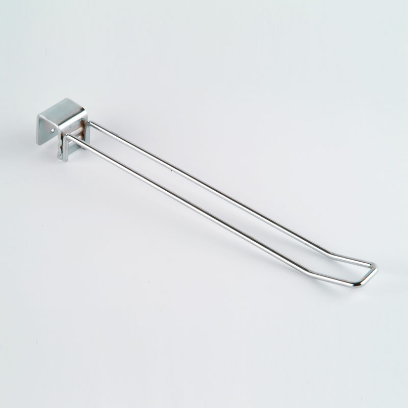 BHD120C(25) - 305mm Euro Hook To Fit 25mm Rail - Chrome