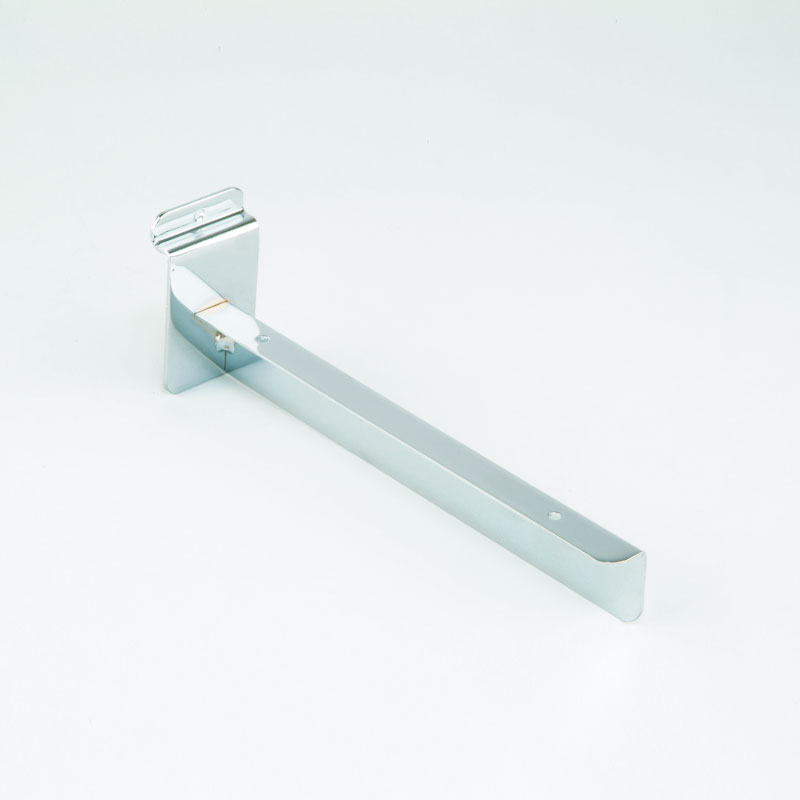 HB1004246 - 228MM (SINGLE) TIMBER SHELF BRACKET - CHROME