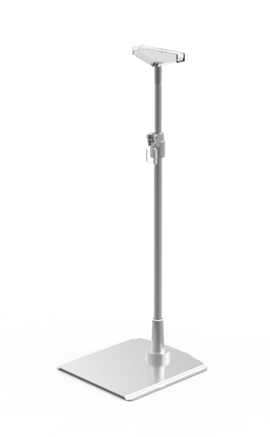 HB0-7501-330 - Telescopic tube, including T-piece, adjustable height from 330 to 510mm, with lockable tube
