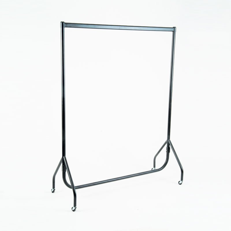 "HB1002292 - 4FT Garment Rail - Black (48"")"