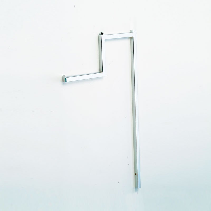 Stepped Arm Clothing Display Rail (Arm Only) - Chrome