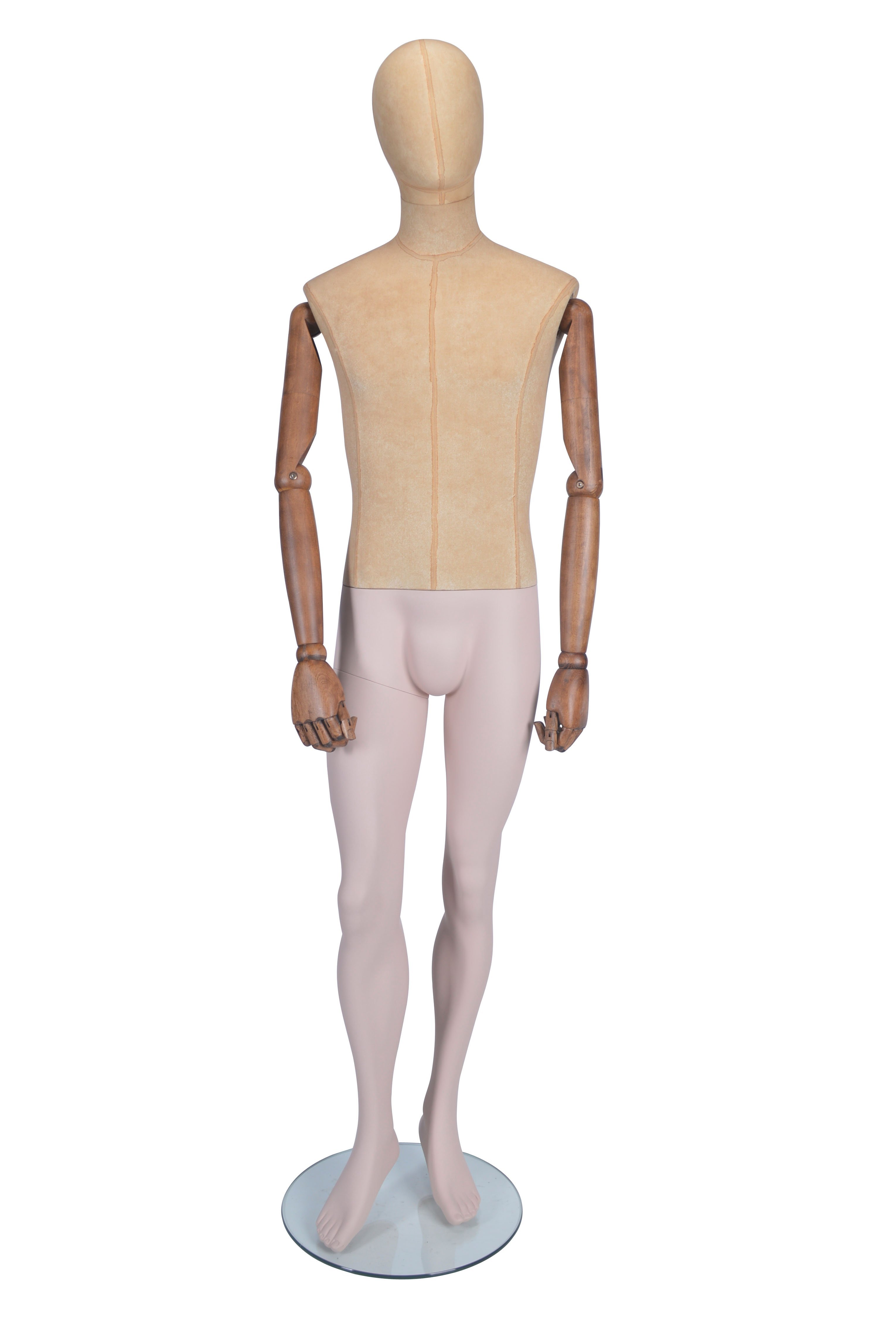 HB1002238 - Standing Male Mannequin - Moveable Arms