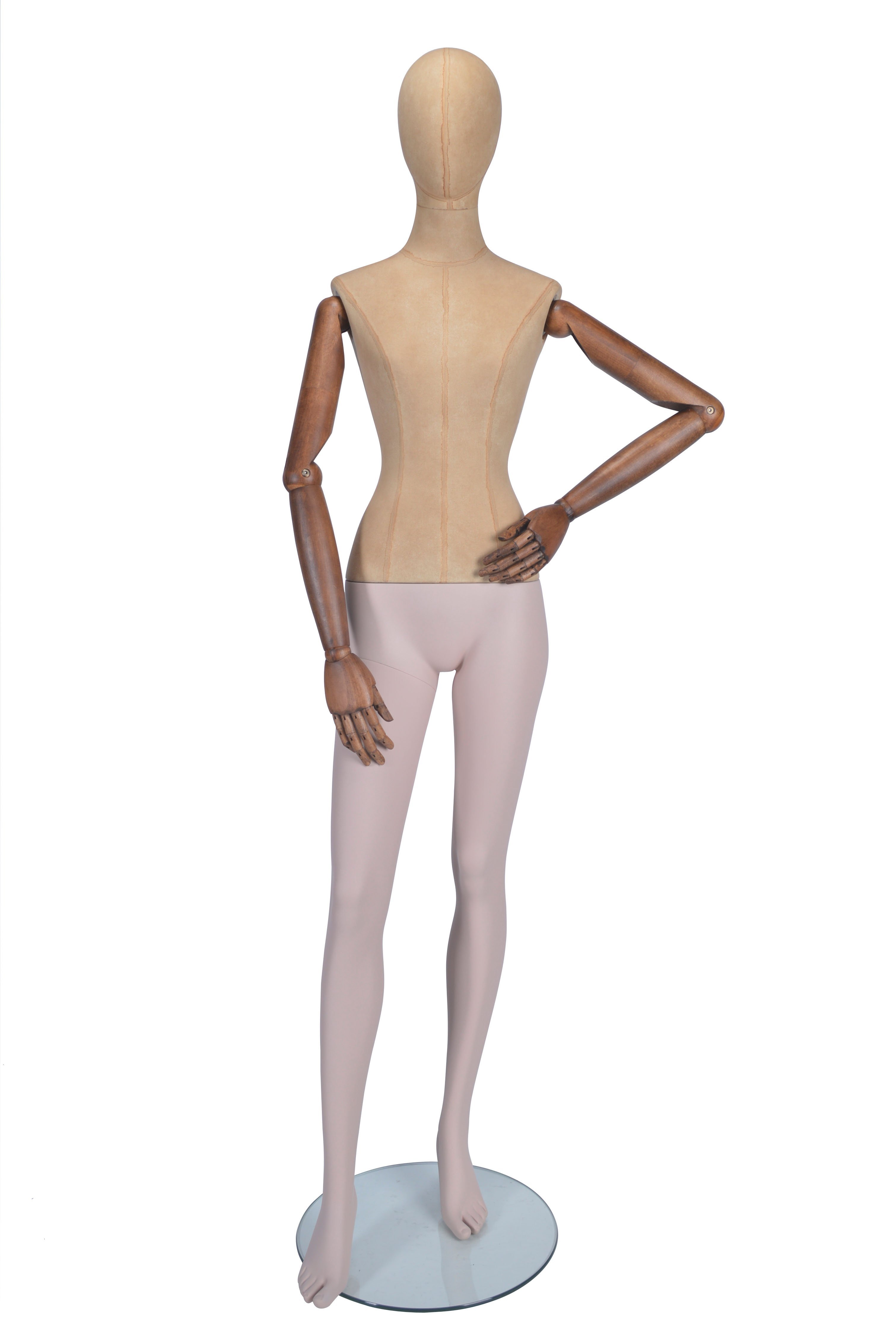 Standing Pose Female Mannequin - Moveable Arms