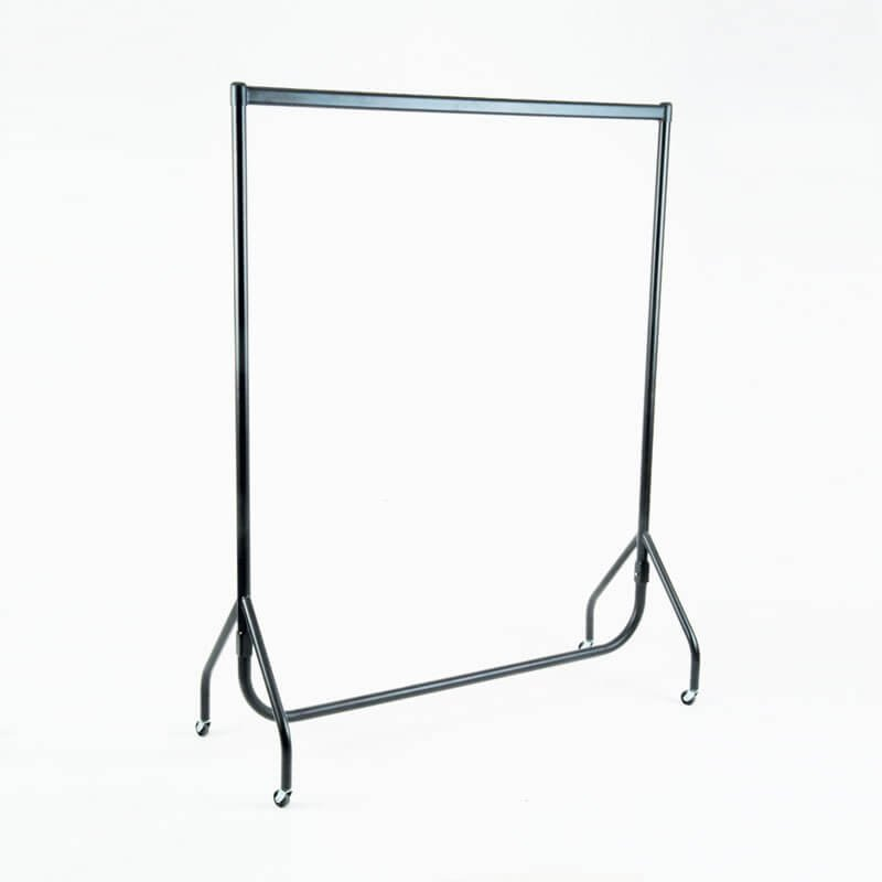 "HB1002297 - 6ft Garment Rail - Black (72"")"